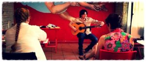 Flamenco guitar recital and seminar 2014.